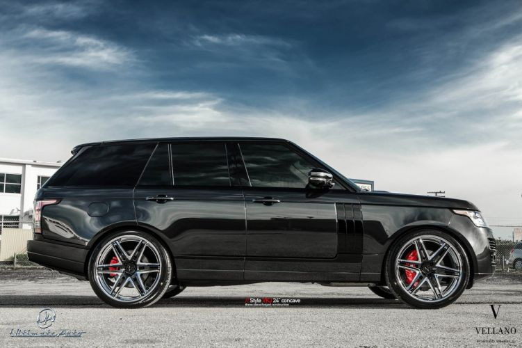 Range Rover Black >> Cars black range rover Tuning vellano wheels wallpaper | 1600x1066 | 392280 | WallpaperUP