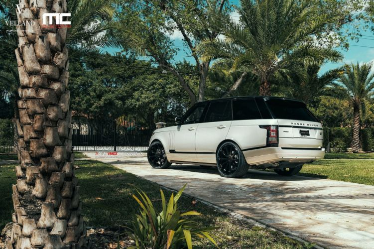 cars range rover white Tuning vellano wheels wallpaper