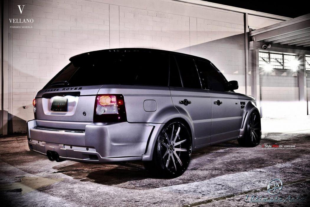 Range Rover Sport suv Vellano wheels tuning cars wallpaper