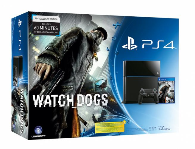 PS4 Playstation Watch Dogs videogame system video game sony wallpaper
