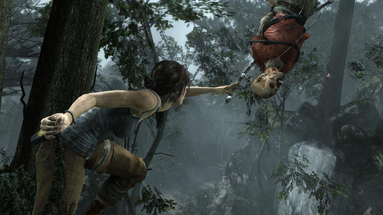 Tomb Raider Lara Croft Bow Dead wallpaper