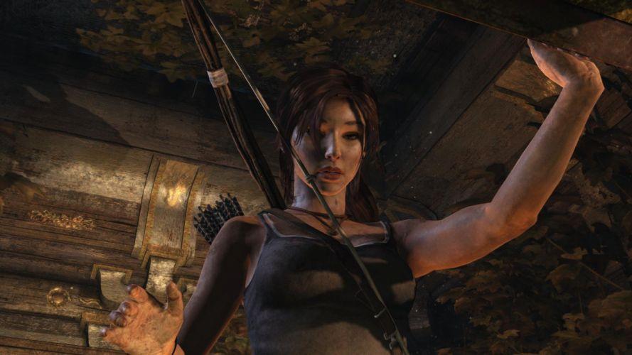 Tomb Raider Lara Croft Tresure wallpaper