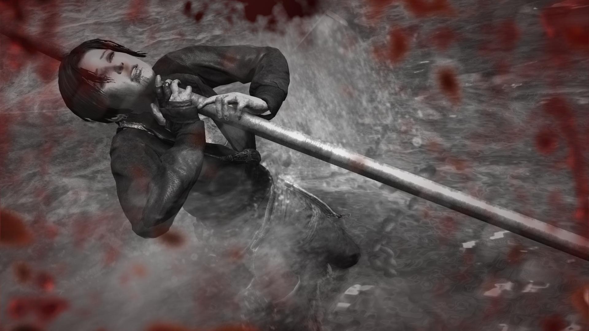 Tomb Raider Lara Croft Death Die Brutal Water Wallpaper 1920x1080 392642 Wallpaperup