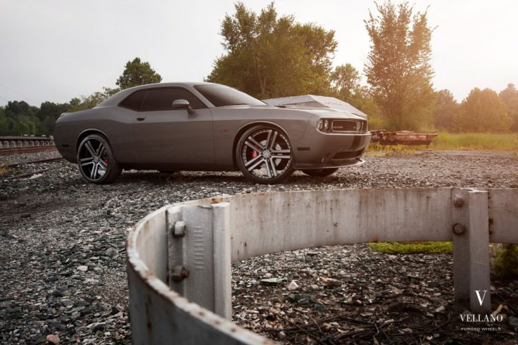 Dodge challenger supercharger Vellano wheels tuning cars wallpaper