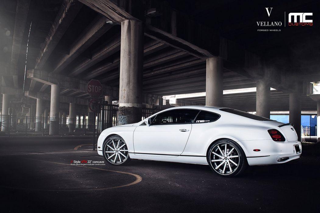 Bentley Continental Supersports White Uk Vellano Wheels Tuning Cars Wallpaper 1600x1066 392729 Wallpaperup