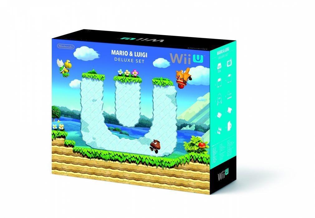Wii-U Nintendo system videogame video game wii mario luigi wallpaper