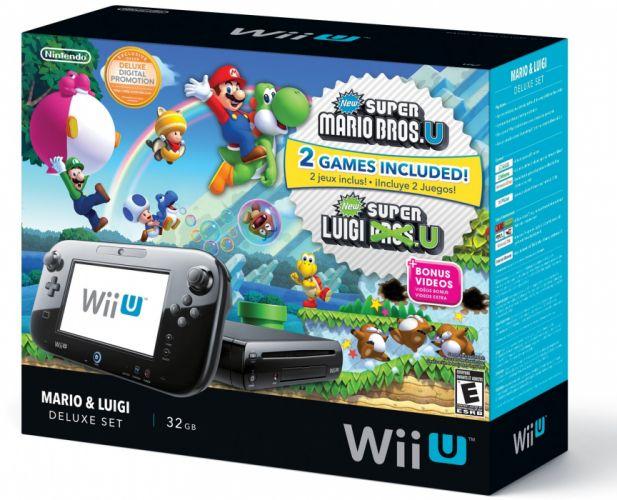 Wii-U Nintendo system videogame video game wii super mario wallpaper