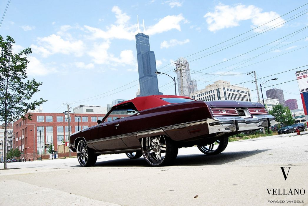 Chevy Caprice vintage Vellano wheels tuning cars wallpaper