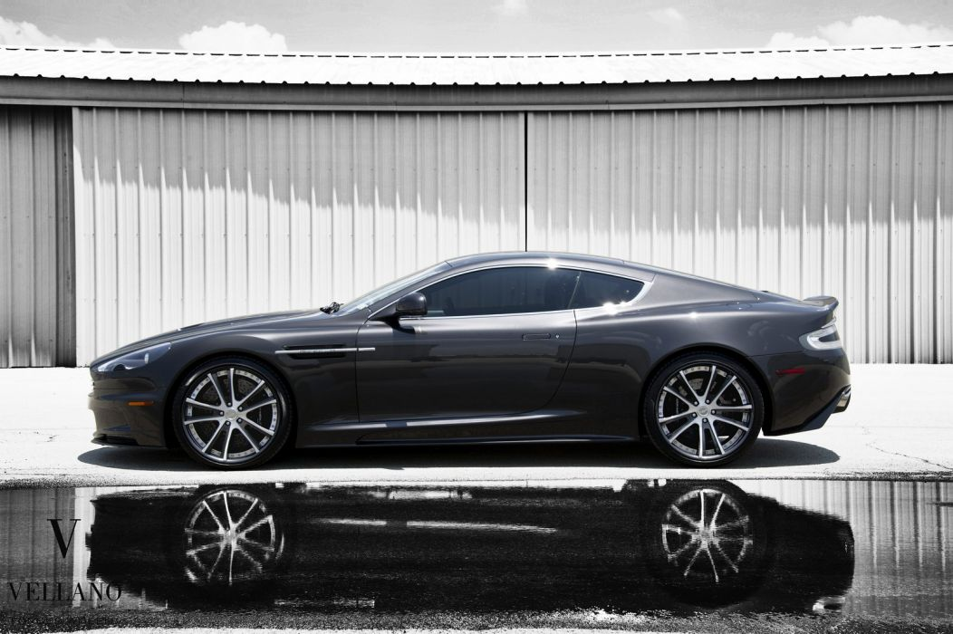 Aston Martin DBS uk Vellano wheels tuning supercars wallpaper