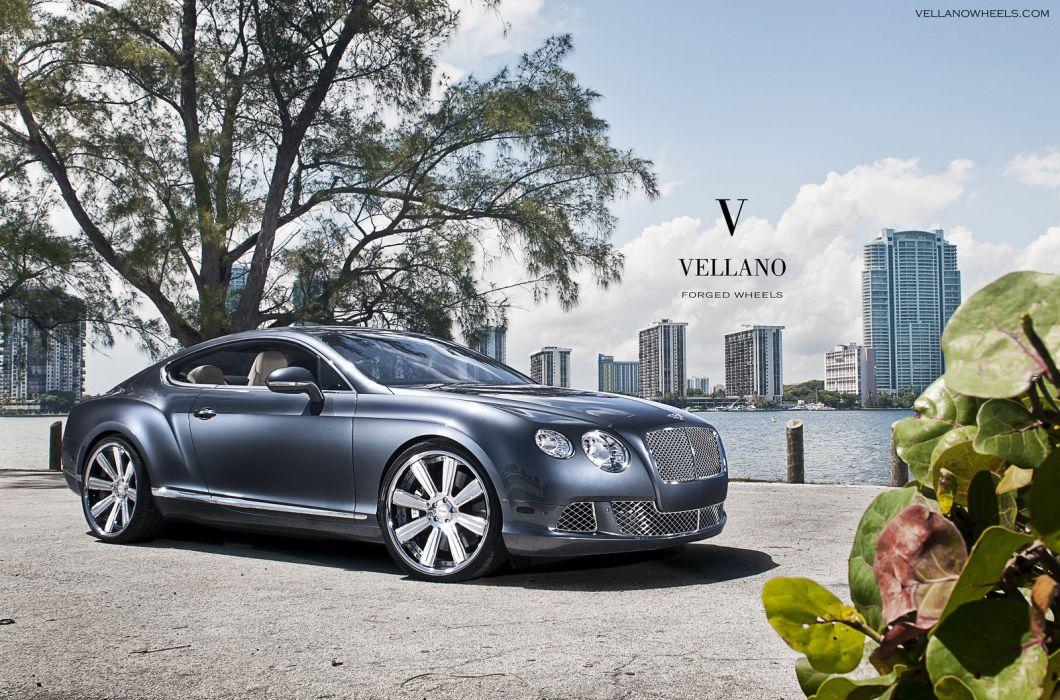 Bentley Continental Gt Uk Vellano Wheels Tuning Supercars Wallpaper 1600x1057 392936 Wallpaperup