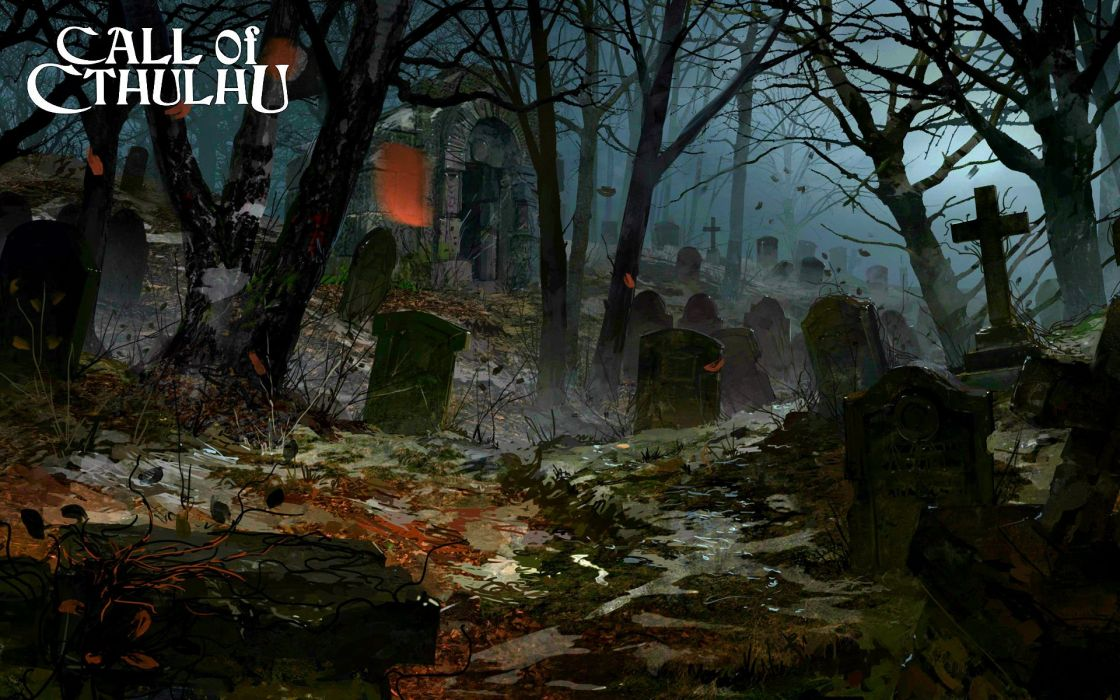 CALL OF CTHULHU Horror Rpg Survival Shooter Call Cthulhu Fantasy Wallpaper