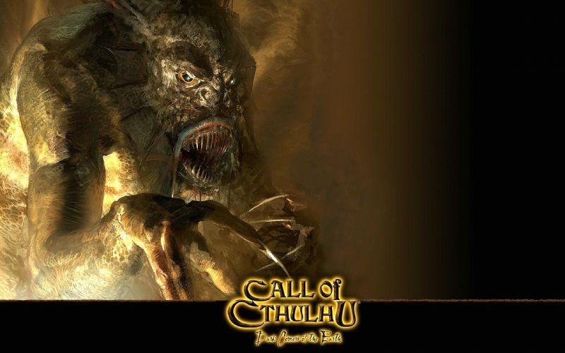 CALL-OF-CTHULHU horror rpg survival shooter call cthulhu fantasy wallpaper