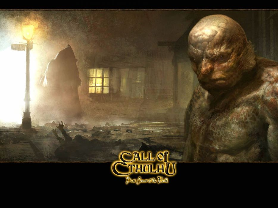 CALL-OF-CTHULHU horror rpg survival shooter call cthulhu fantasy wallpaper