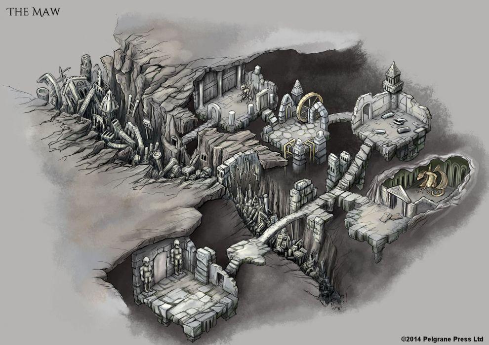 TRAIL-OF-CTHULHU horror rpg survival shooter call cthulhu fantasy trail wallpaper