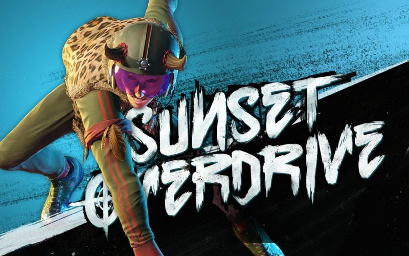 SUNSET OVERDRIVE action shooter rpg sci-fi wallpaper