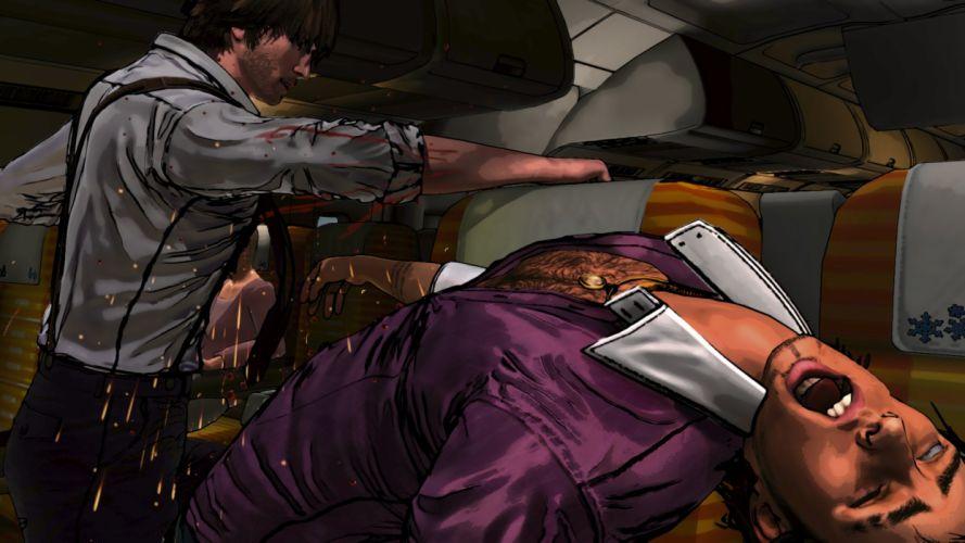 D-4 DARK DREAMS DONT DIE episodic crime noir adventure wallpaper
