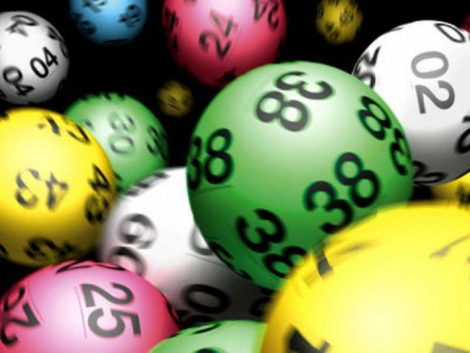 Lottery Balls wallpaper