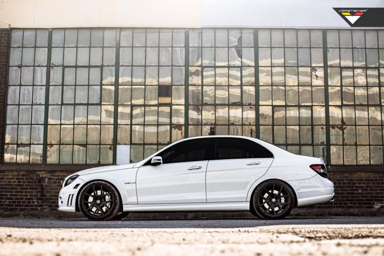 2014 vorsteiner c63 amg white wheels tuning germany cars wallpaper