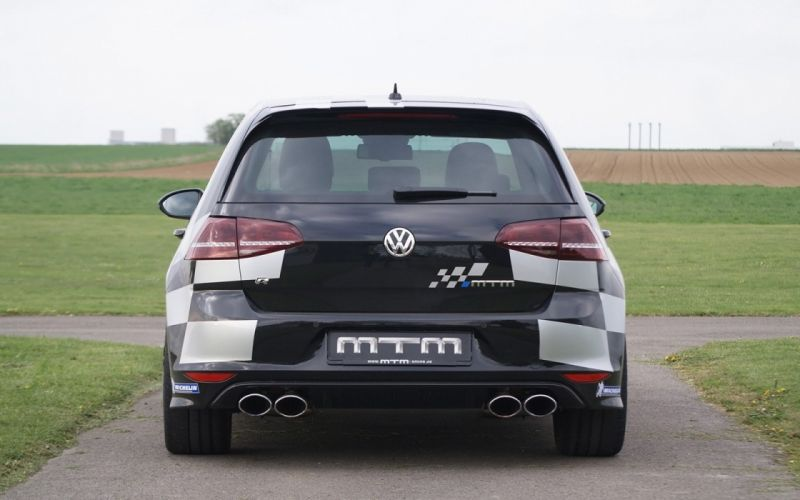 2014 MTM Volkswagen Golf 7 R black tuning germany cars wallpaper