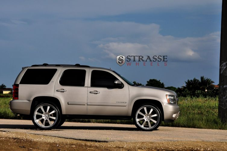Chevy Tahoe suv Strasse Wheels tuning cars wallpaper