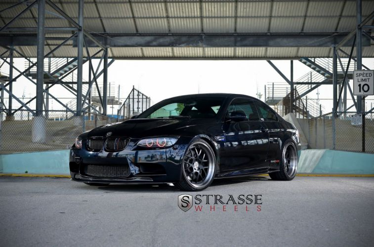 bmw m3 e92 blue germany Strasse Wheels tuning cars wallpaper