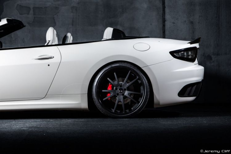 Maserati GranTurismo Forgiato Wheels supercars white tuning wallpaper