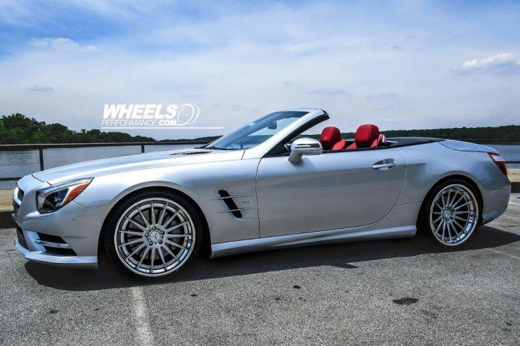 MERCEDES SL550 convertible FORGIATO Wheels tuning cars wallpaper