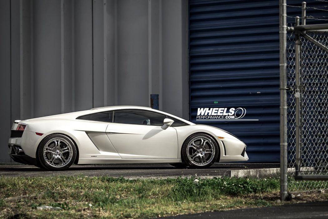 LAMBORGHINI GALLARDO  FORGIATO Wheels tuning supercars wallpaper