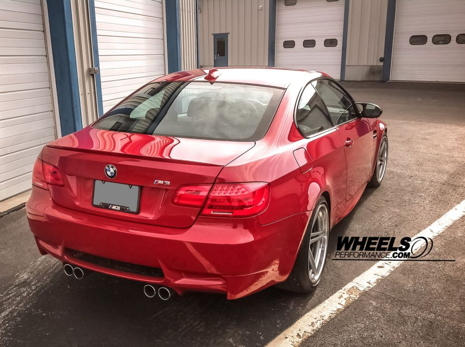 BMW M3 E92 Wheels tuning cars red wallpaper