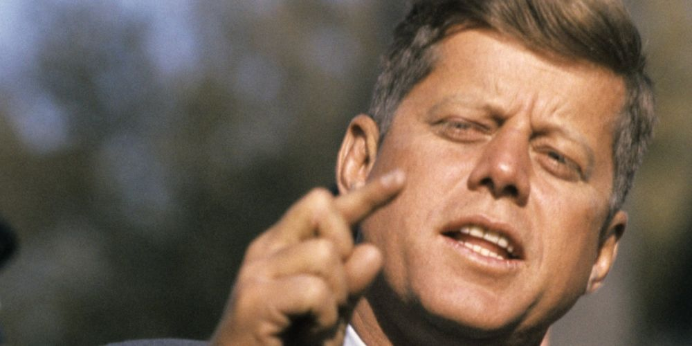 John Fitzgerald Kennedy president USA power wallpaper