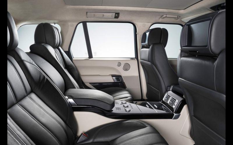 2014 Hamann Range Rover Vogue black suv tuning cars wallpaper