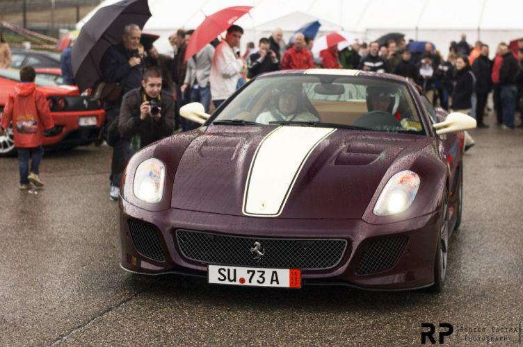 599 Ferrari GTO Supercar wallpaper