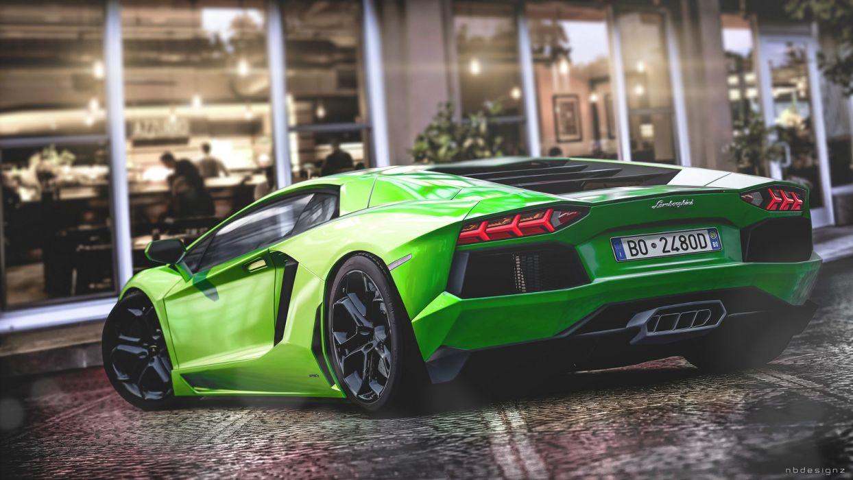 Aventador Green Lamborghini Lp Supercars Italian Cars Wallpaper