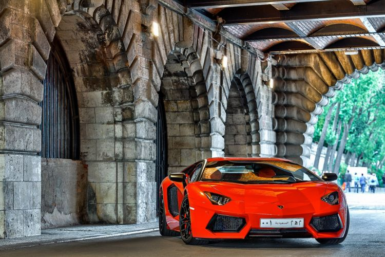 Aventador cars italian orange Lamborghini lp700 supercars wallpaper