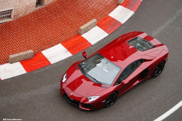 Aventador cars italian Lamborghini lp700 red supercars wallpaper