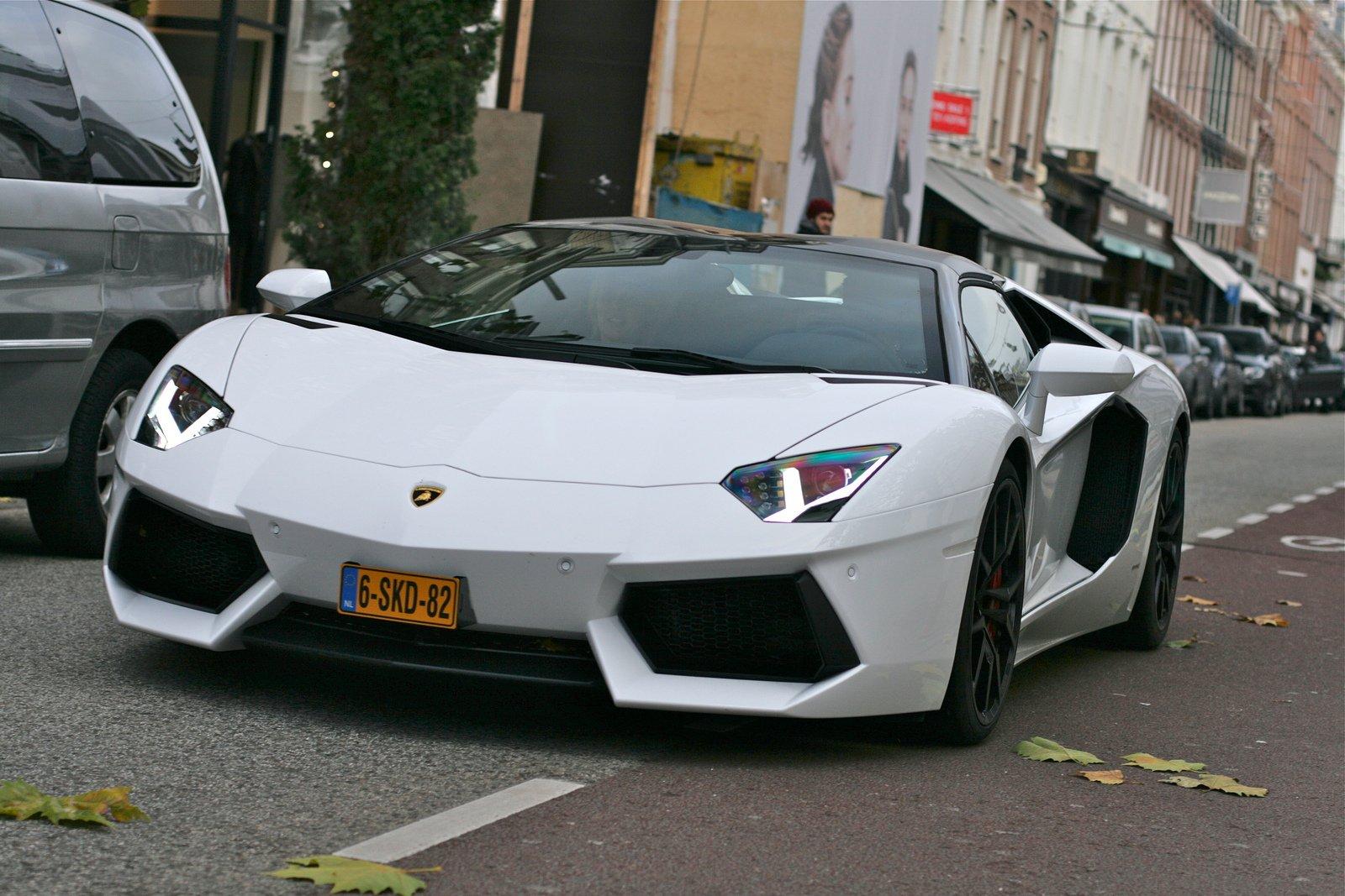 lamborghini aventador lp700 4 roadster white blanche italian supercars wallpaper 1600x1067 394197 wallpaperup - Lamborghini Aventador Roadster White