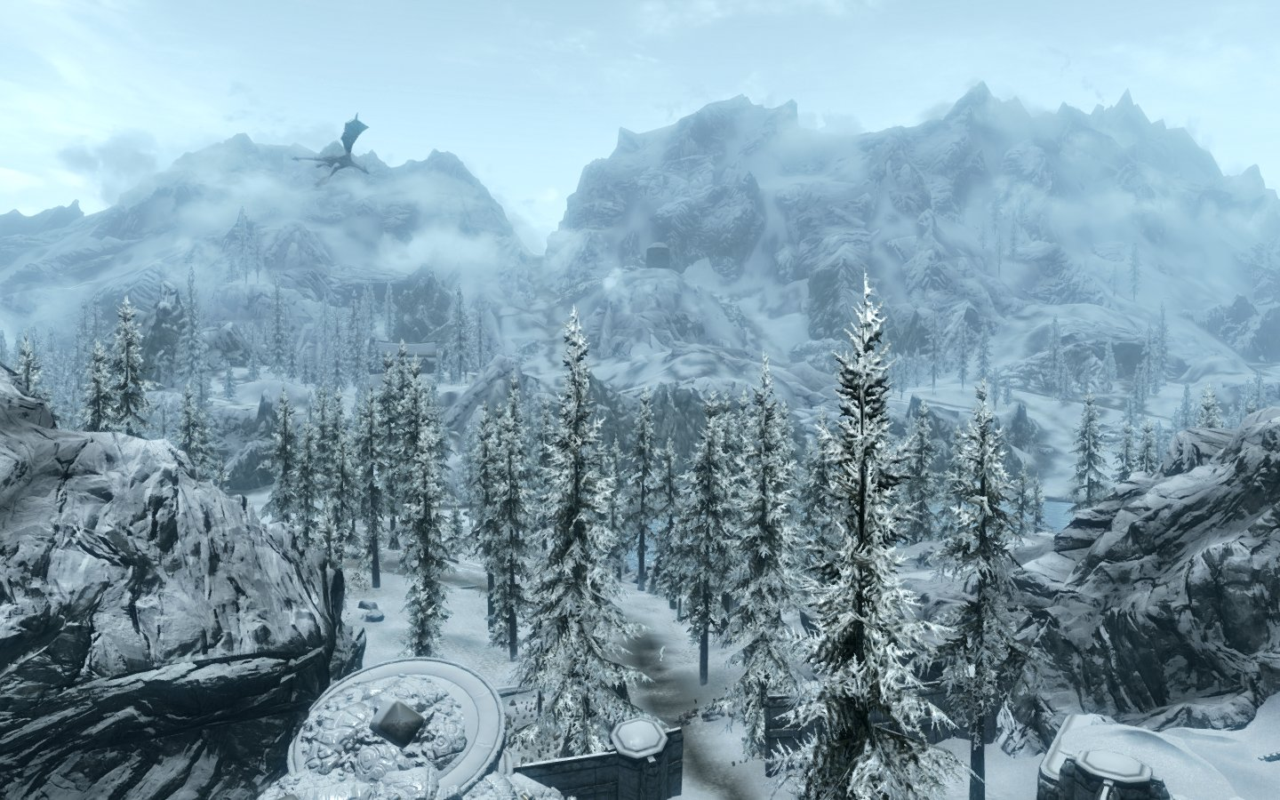 Skyrim Mountains Images - Reverse Search