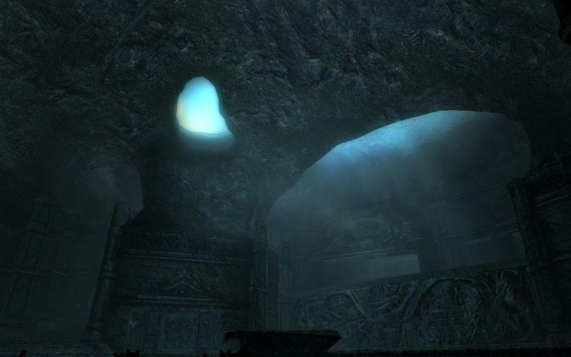 The Elder Scrolls Skyrim Alduin's Wall wallpaper