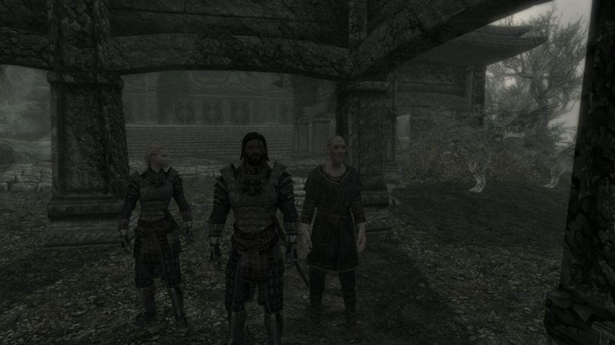The Elder Scrolls Skyrim Blades wallpaper