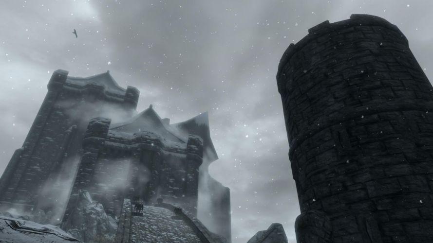 The Elder Scrolls Skyrim Dawnguard Castle Volkihar wallpaper