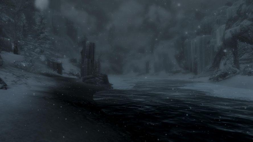 The Elder Scrolls Skyrim Dawnguard wallpaper