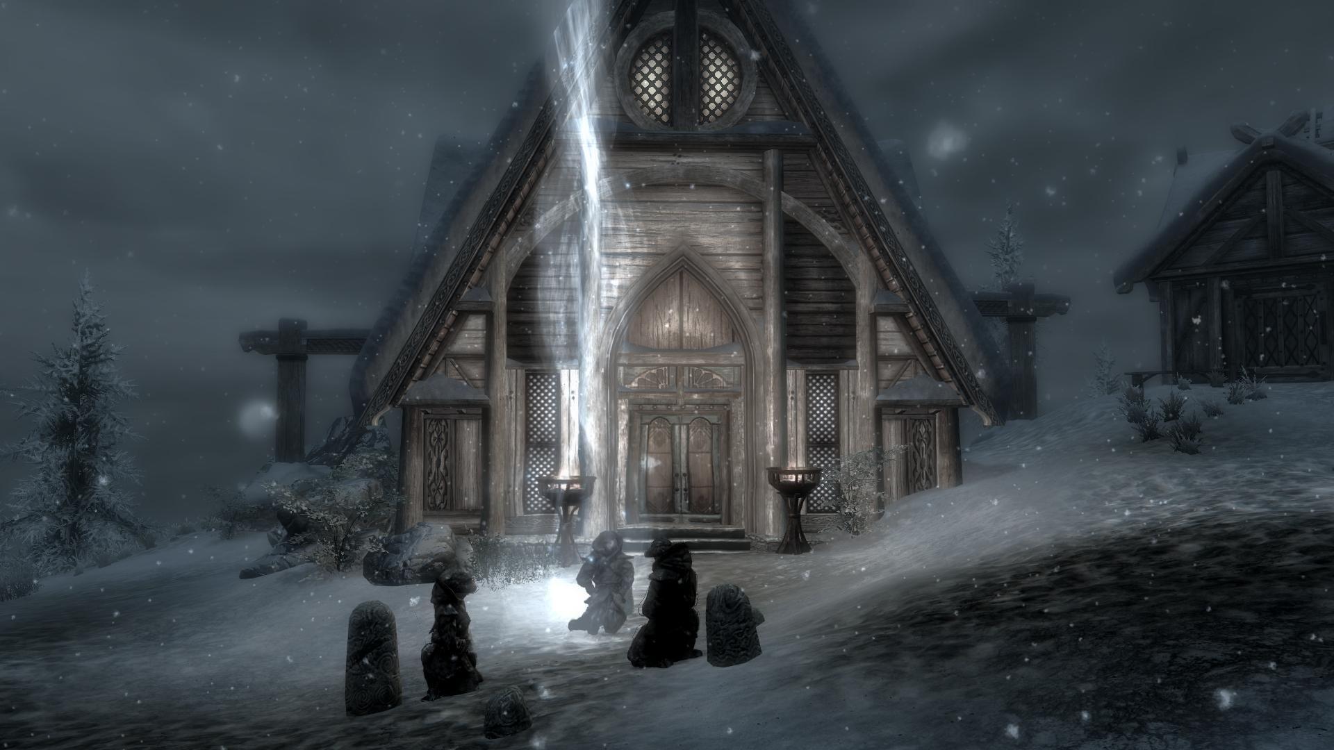 The Elder Scrolls Skyrim Dragonborn Skaal Vielege Wallpaper