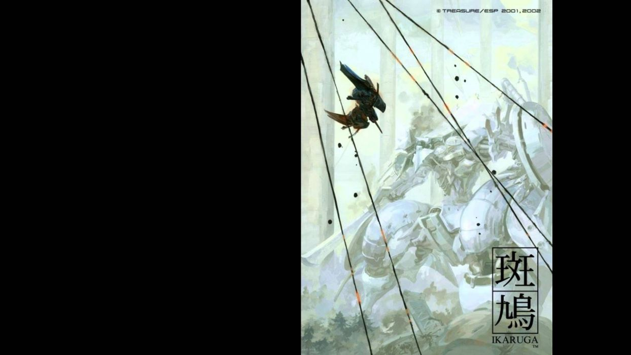 IKARUGA shooter arcade anime sci-fi mecha Senran Kagura wallpaper