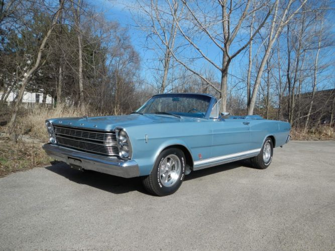 1966 Ford Galaxie 500 390 Convertible Classic wallpaper