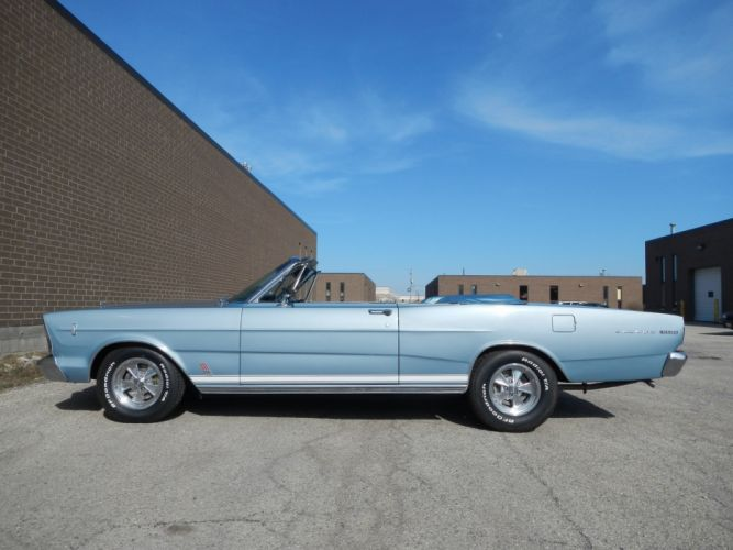 1966 Ford Galaxie 500 Convertible 390 Classic wallpaper