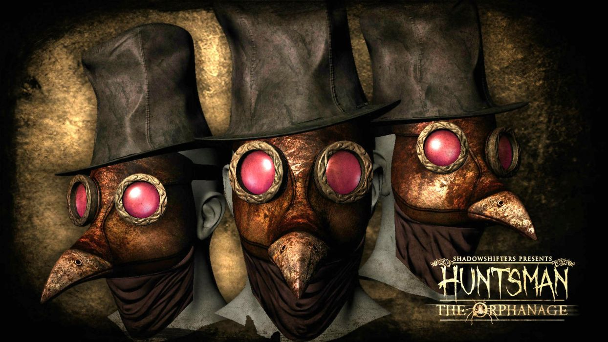 HUNTSMAN THE ORPHANAGE horror 3-d strategy dark wallpaper