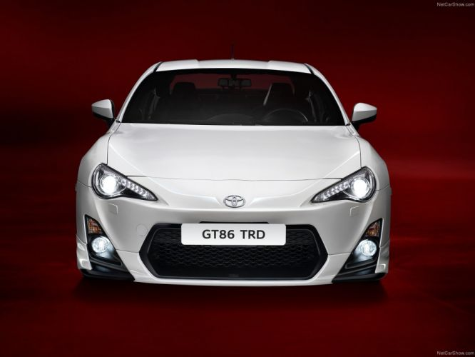 Toyota GT86 TRD 2014 japan white blanche coupe 2 doors wallpaper