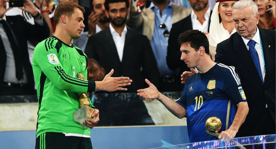 Germany Fifa World Cup 2014 Champion Soccer Messi Neuer wallpaper