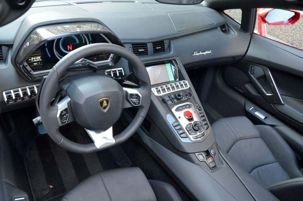 700 Aventador cabriolet convertible Dreamcar Exotic italian Lamborghini roadster sportscar Supercar ROSSO EFESTO wallpaper