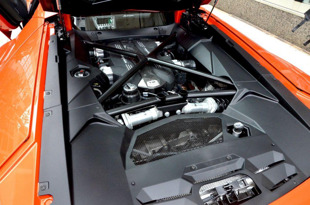 LP 700 Aventador Coupe Dreamcar Exotic italian Lamborghini sportscar Supercar ARANCIO ARGOS PEARL wallpaper